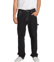 straight jeans volcom whaler utility twill pant