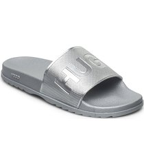 match_slid_dm slippers tofflor silver boss