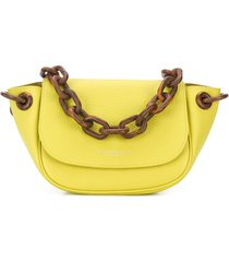 simon miller bend statement strap shoulder bag - green