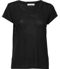 t-shirt t-shirts & tops short-sleeved svart sofie schnoor