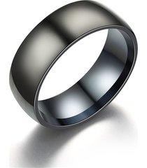 anillo hombre carburo titanio clasico 4dc negro