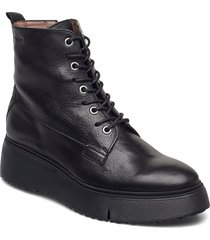 a-9331 shoes boots ankle boots ankle boot - flat svart wonders