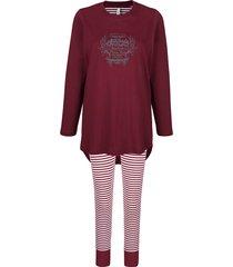 pyjama comtessa bordeaux::ecru