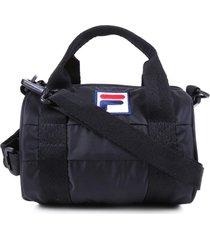 bolsa sacola fila bolsa preto - preto - feminino - dafiti