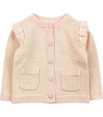 sweater spring floral rosado ficcus
