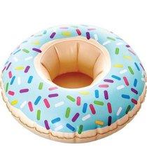 boia inflável porta copo donuts bellazer