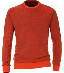 trui casa moda oranje ronde hals