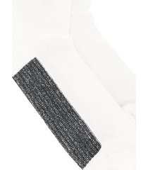rick owens basic socks - white
