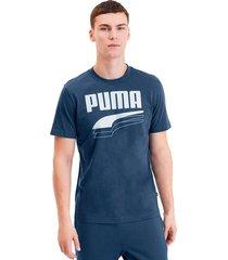 camiseta - azul - puma - ref : 58135643