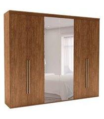 guarda-roupa casal com espelho originale 6 pt 6 gv álamo 207 cm