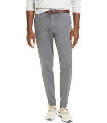 men's brunello cucinelli solid stretch cotton dress pants