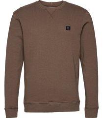boozt piece sweatshirt sweat-shirt tröja brun les deux