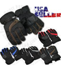 winter gloves thermal wind waterproof ski warm snow sports snow thermal mens new