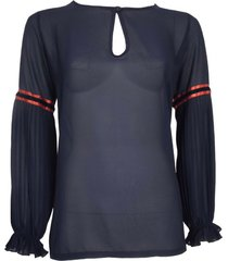 blouse plisse