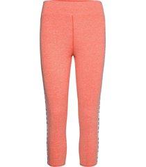 dkny technical jersey crop sleep legg. leggings rosa dkny homewear