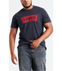 levi's men's big & tall graphic t-shirt
