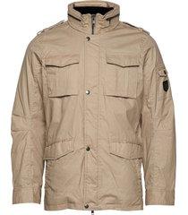 jamie canvas field jacket tunn jacka beige jofama