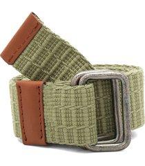cinturón verde-miel colore