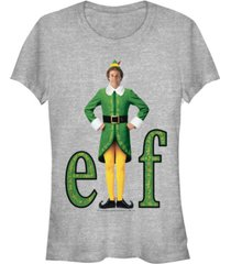 fifth sun elf buddy outfit portrait women's short sleeve t-shirt