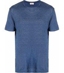 altea horizontal-striped t-shirt - blue