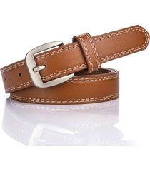 cinturón para mujer/estilo accesorio/ vestido-marrón