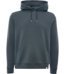 norse projects vagn classic hooded sweatshirt | mineral blue | n20-1276