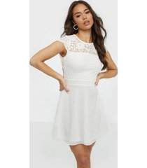 nly eve rose lace skater dress skater dresses