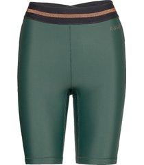 fearless high waist short tights cykelshorts grön casall