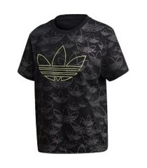 camiseta adidas cropped t shirt originals preto