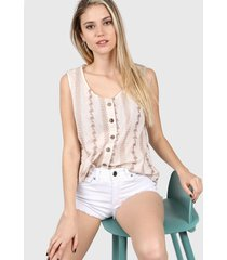 camisa beige ted bodin amy