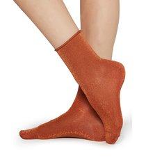 calzedonia - fancy patterned socks, one size, orange, women