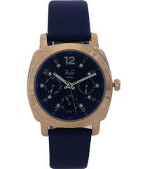 reloj dorado-azul versace 19.69