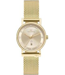 relógio technos elegance 9t13ab4x feminino
