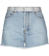 alexandre vauthier denim shorts