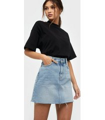 dr denim mallory denim skirt minikjolar denim