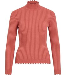 violivi knit funnel neck top