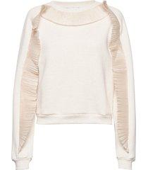 rodebjer graciosa sweat-shirt trui crème rodebjer