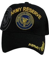 us warriors men's u.s. army reserve baseball hat one size black
