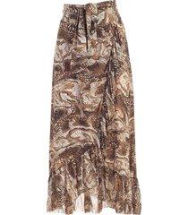 ganni skirt long