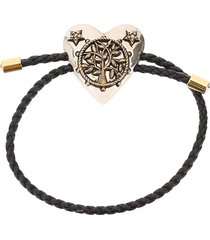 alexander mcqueen heart friend bracelet