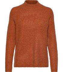 fxtiwarm 2 pullover stickad tröja orange fransa
