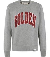 golden goose archibald regular crewneck rounded sweatshirt