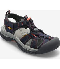 ke venice h2 w mid navy-hot coral shoes summer shoes flat sandals keen