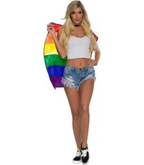 buyseasons adult certified pride cape short