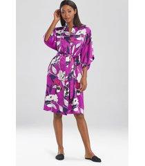 natori odessa sleep & lounge bath wrap robe, women's, size xs natori
