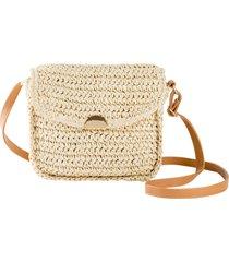 borsa di paglia a tracolla (beige) - bpc bonprix collection