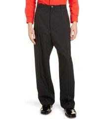 men's balenciaga baggy tailored trousers