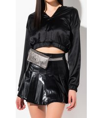 akira love that studded fanny pack belt