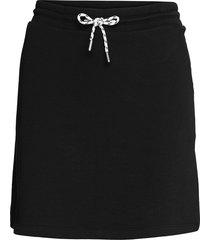 skirts knitted kort kjol svart edc by esprit
