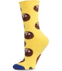 women's tough cookie greeting card women's socks